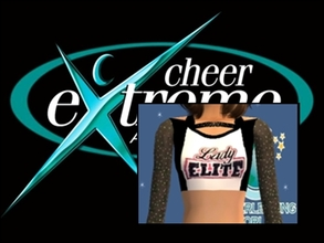 Sims 2 — Cheer Extreme Lady Elite Uniform Top Teen by Cheer4Sims2 — Cheer Extreme Lady Elite Uniform Top Teen