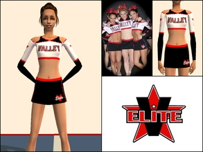 Sims 2 — Valley Elite Cheer Uniform by Cheer4Sims2 — Valley Elite Cheer Uniform