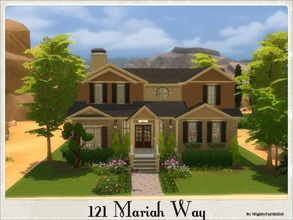 Sims 4 — 121 Mariah Way by mightyfaithgirl — This charming home is almost fully furnished and comes with 3 bedrooms, 3