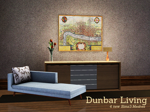 Sims 3 — Dunbar Living by Angela — Dunbar Living, a small set for the nook in your living or bedroom. Just a small place