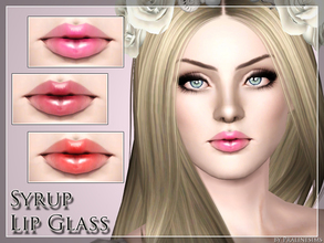 Sims 3 — Syrup Lip Glass by Pralinesims — New lipstick for your sims! Your sims will love their new look ;) - Fits with