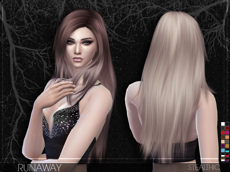 Stealthic Runaway Female Hair