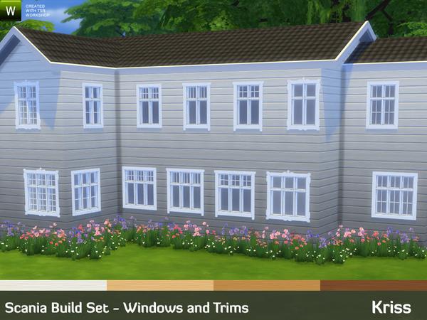 Kriss Scania Build Set Windows And Trims