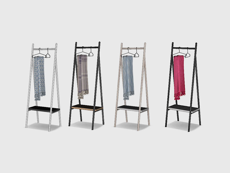 Ung999 S Bedroom Cedar Clothes Rack