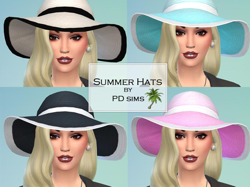 PDsims' Summer Hats