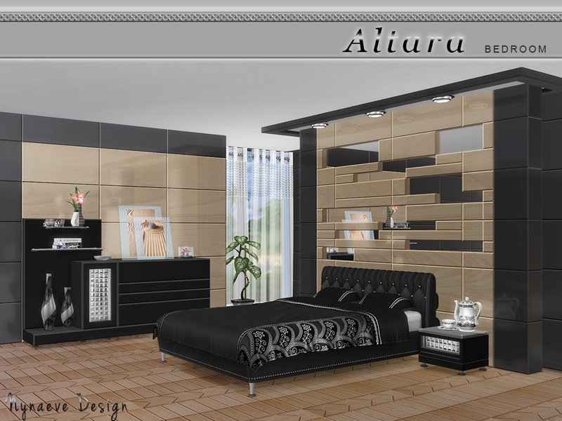 Nynaevedesign 39 s altara bedroom for Bedroom designs sims 4