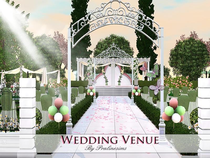 Sims  Wedding Where Is Cake