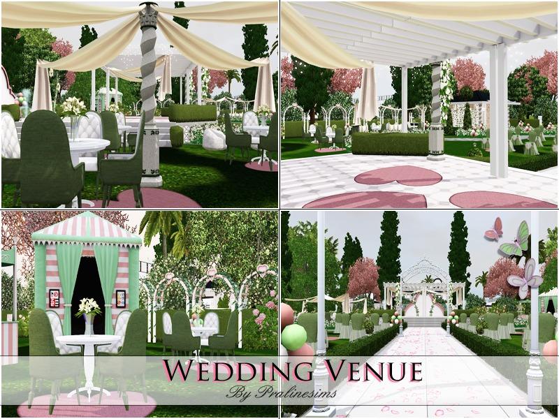 Sims  Wedding Decorations