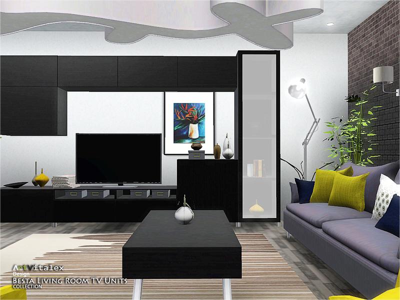 Artvitalex 39 S Besta Living Room Tv Units