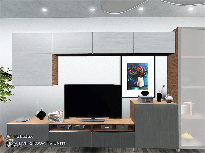 ArtVitalexs Besta Living Room TV Units - Living room tv