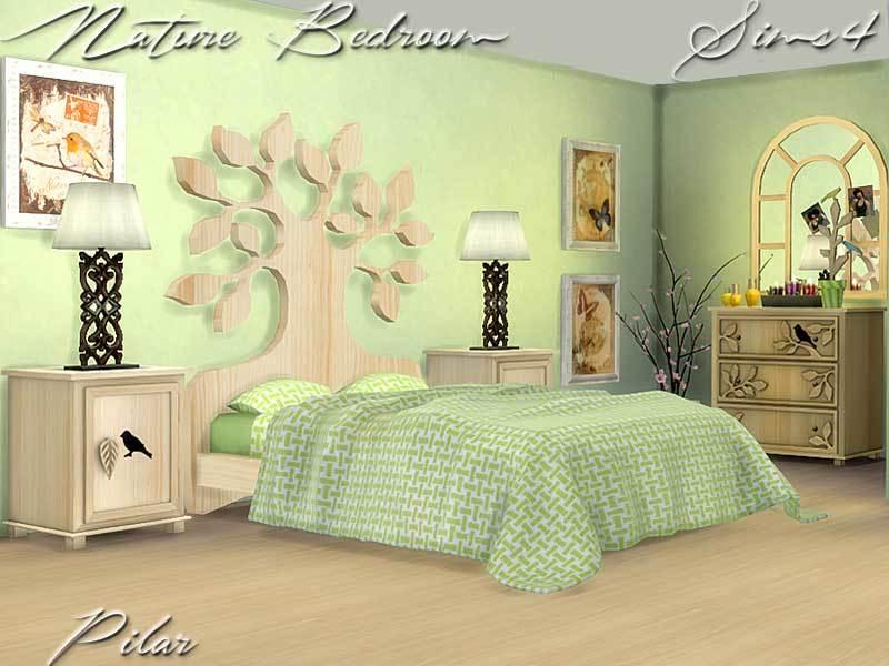 Pilar's Nature Bedroom