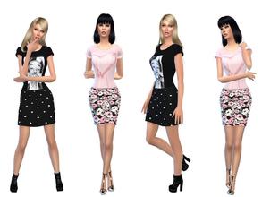 Sims 4 Female Everyday