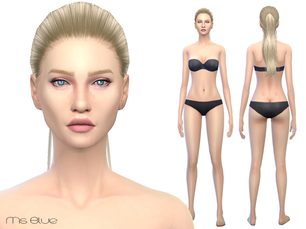 Sims 2 female nude skin picture 55