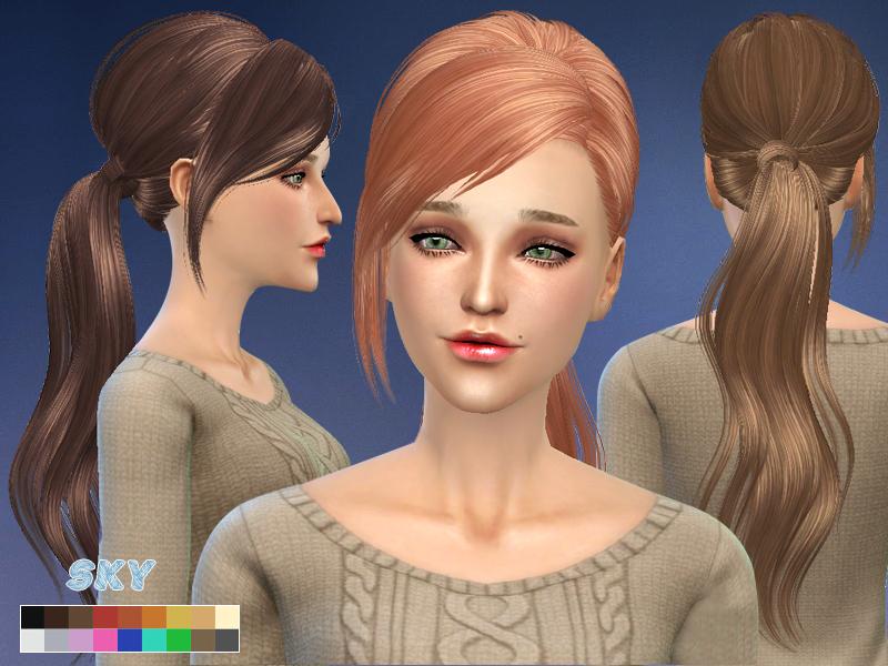 Skysims Hair 208