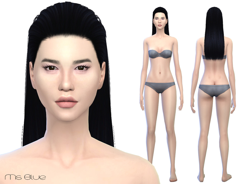 Sims 2 female nude skin picture 42