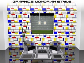 Sims 3 — Graphics Mondrian style by Prickly_Hedgehog —