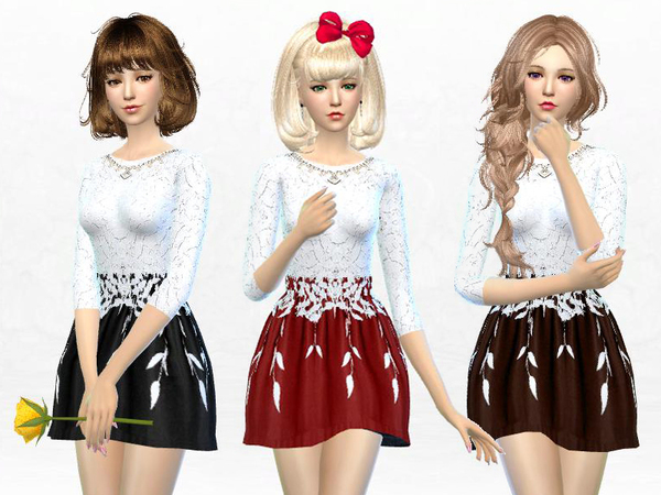http://www.thesimsresource.com/downloads/details/category/sims4-sets-clothing-female/title/dress-with-round-neckline/id/1287695/