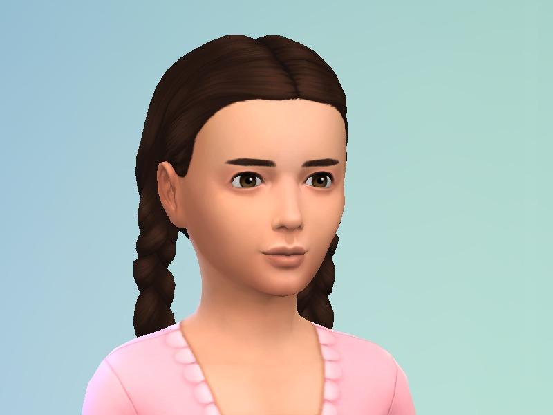 sims 4 hair pigtail buns elsa sims 4 hair sims 4 girl hair braids ...