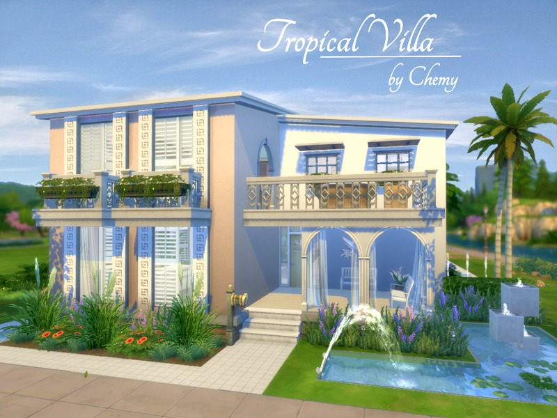 Chemy 39 s tropical villa for Beach house 3 free download