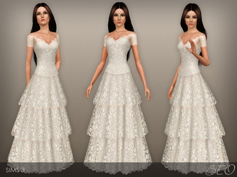 Beo s vintage wedding dress 38