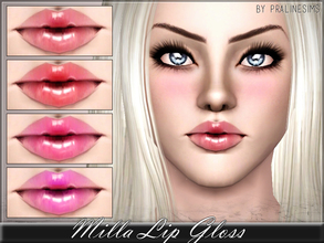 Sims 3 — Milla Lip Gloss by Pralinesims — New lipstick for your sims! Your sims will love their new look ;) - Fits with