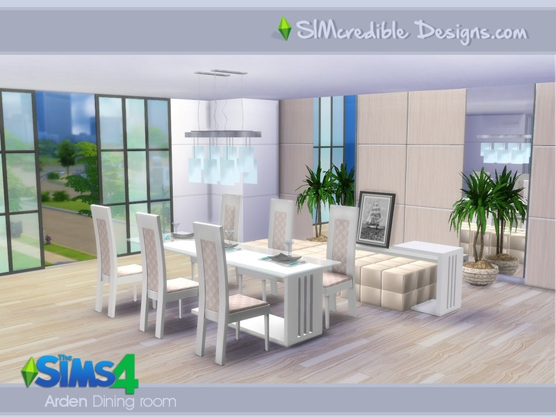 Dining Room Set For 4 - Interior Design