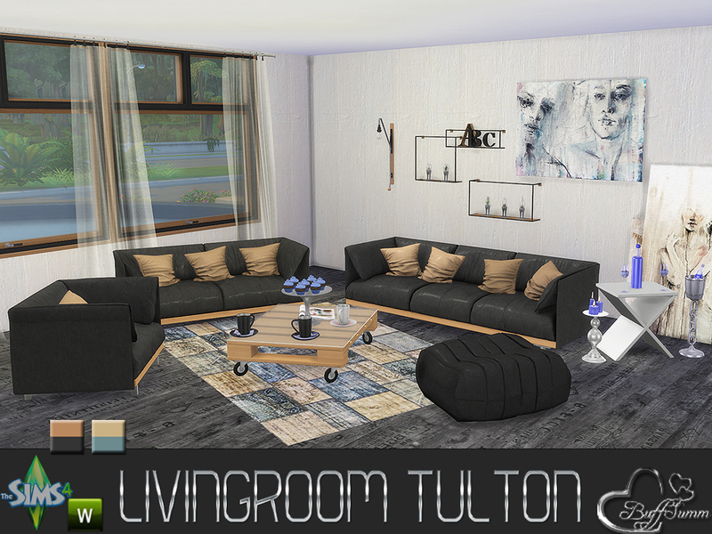 sims 2 living room sets buffsumm s livingroom tulton set 23543