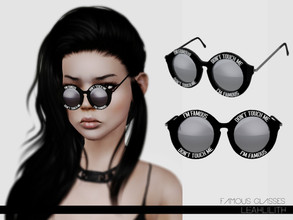 Sims 3 — LeahLillith Famous Glasses by Leah_Lillith — Famous Glasses 3 recolorable areas avilable for males and females