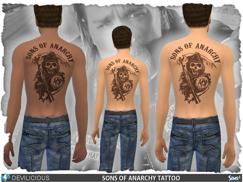 Devilicious 39 sons of anarchy tattoo 39 s for Sons of anarchy tattoos