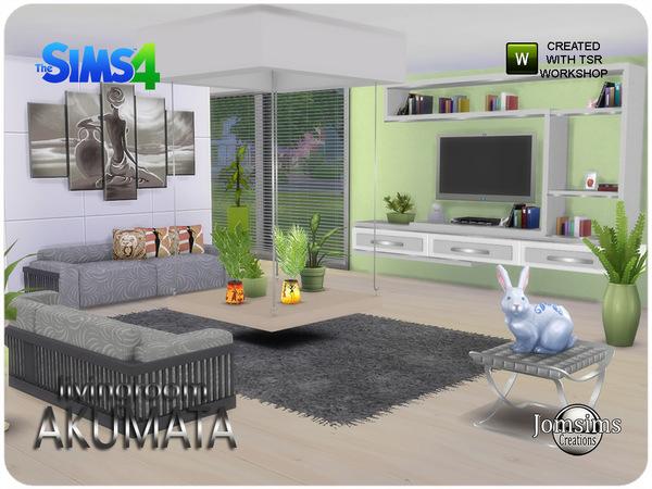 jomsims\' Akumata living room