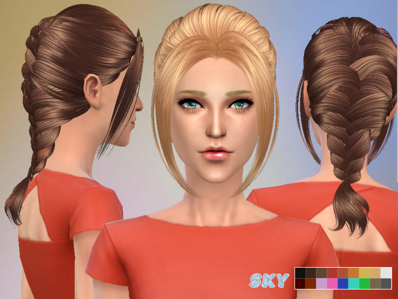 Hairstyles Braids Download: Skysims Hair 149