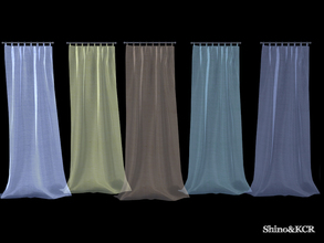 ShinoKCRs Sims 4 Curtains Blinds