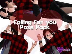 Sims 3 — Falling for you Pose Pack by sweetwilight — 3 Couple poses that can be again used for story telling. Just a