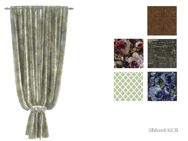 Shinokcr s curtains and canopy s - Shinokcr S Curtains And Canopy S Curtain Solid W Roses