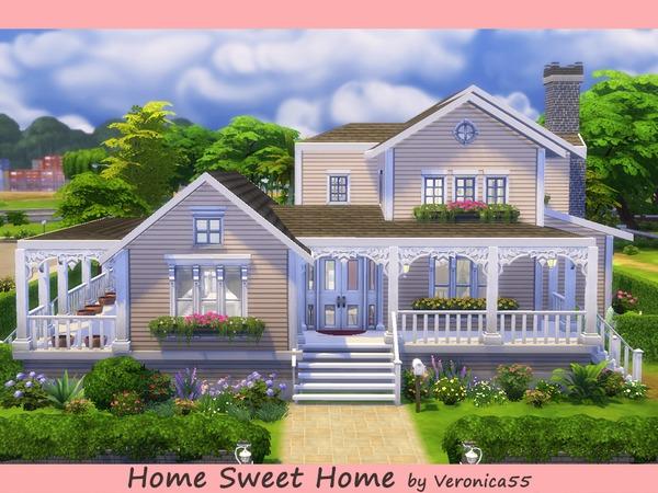 Domy hacjendy samotnie the sims polska for Big family house