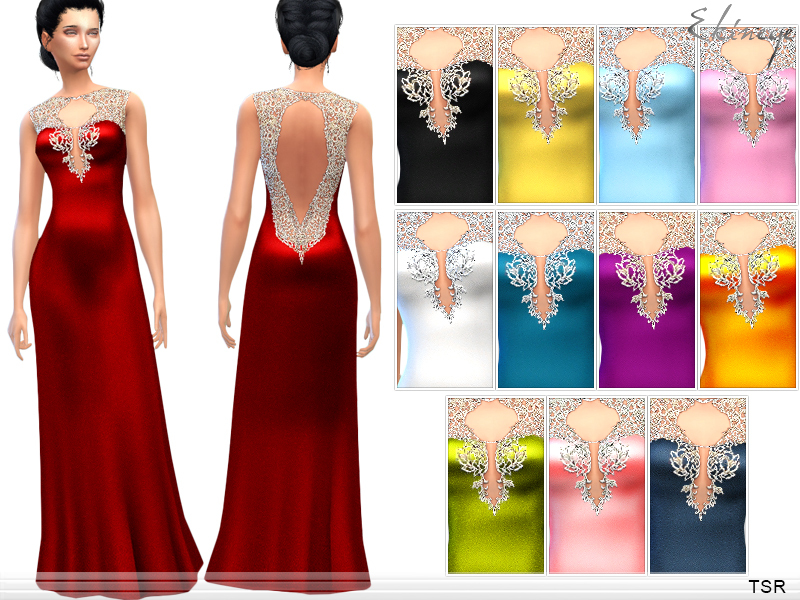 ekinege\'s Long Elegant Dress