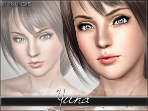 Sims 3 — Yuna (FFX) by Pralinesims — Yuna from Final Fantasy X! You MUST install the skintone if you want her to look