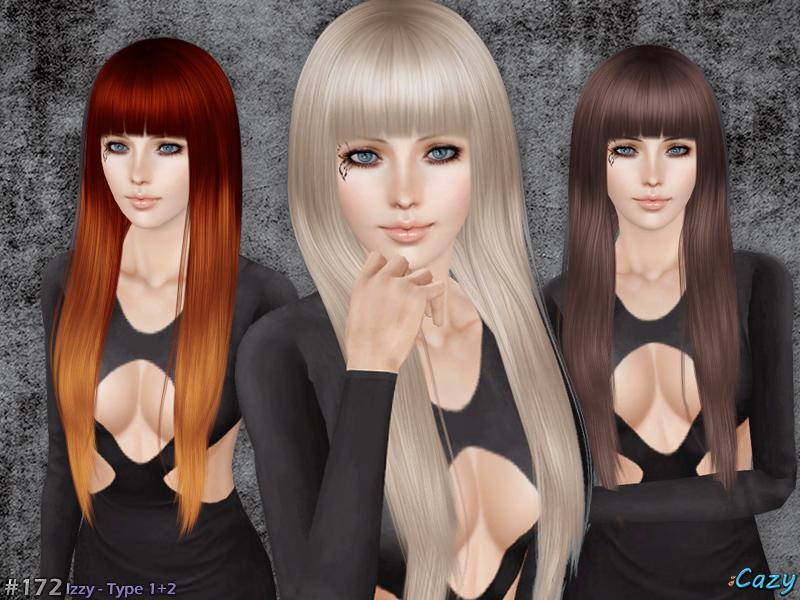 Cazy S Izzy Hairstyle Set