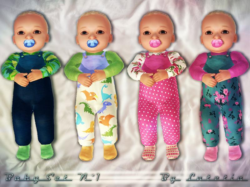 Lutetia S Baby Set No 1 Footies