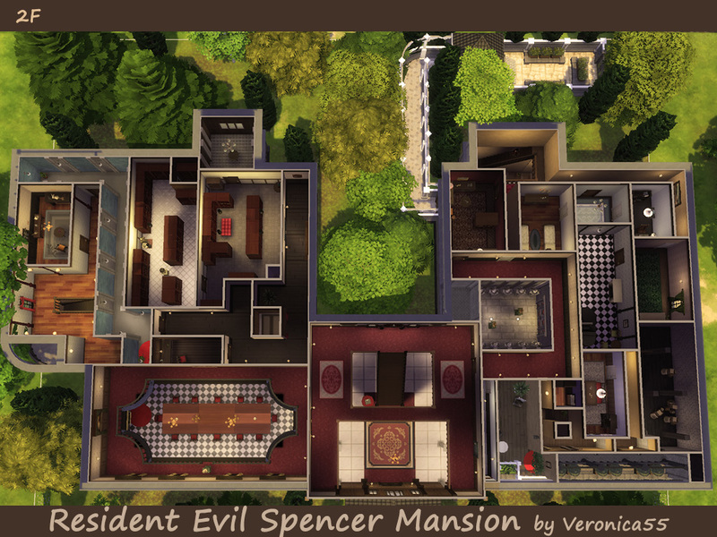 Veronica55 S Resident Evil Spencer Mansion
