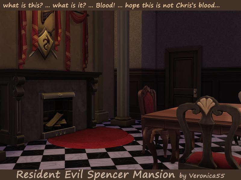 Resident Evil  Spencer Family Room