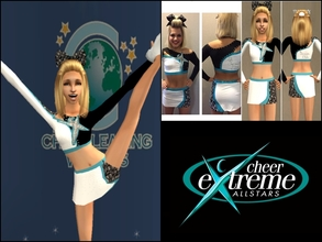Sims 2 — Cheer Extreme Senior Elite Uniform by Cheer4Sims2 — Cheer Extreme Senior Elite Uniform
