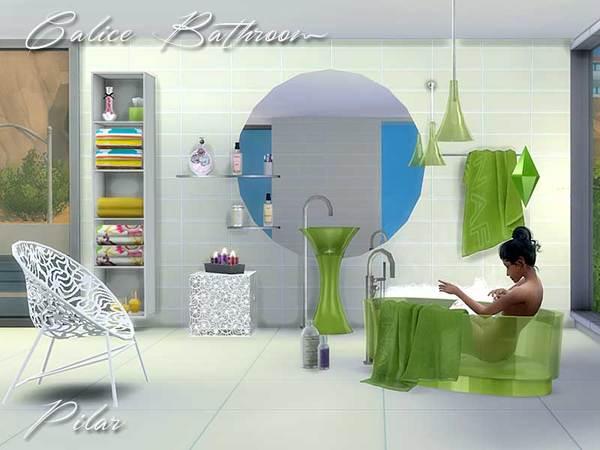 Pilar39s calice bathroom for Sims freeplay baby bathroom