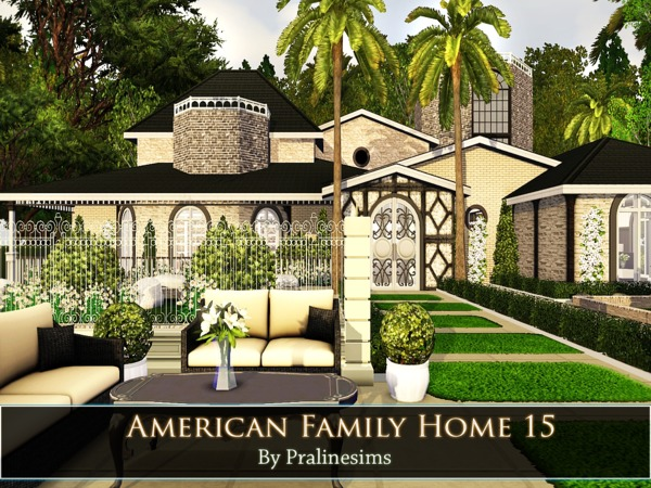 Pralinesims 39 american family home 15 for American family homes