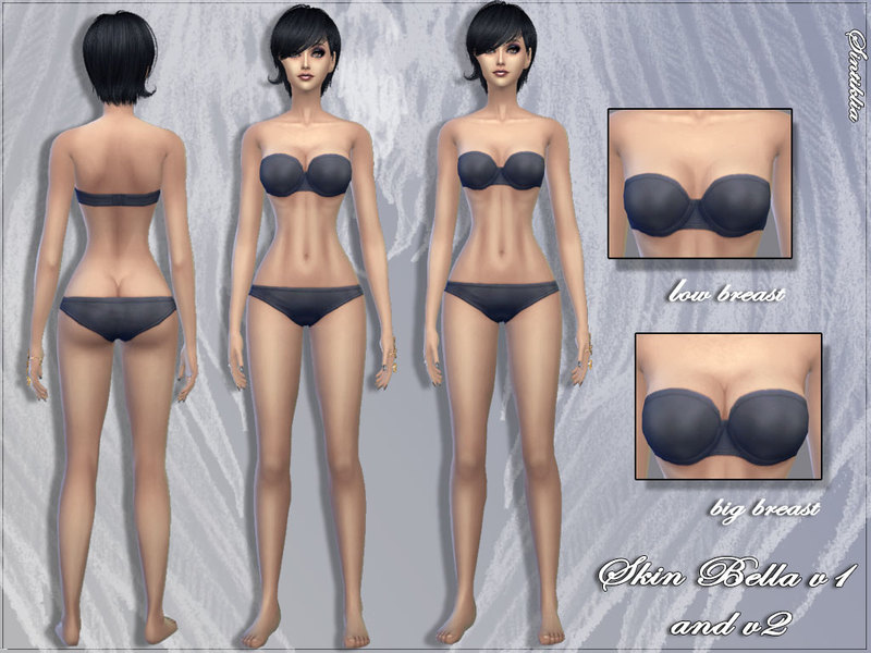 how to change body type sims 4