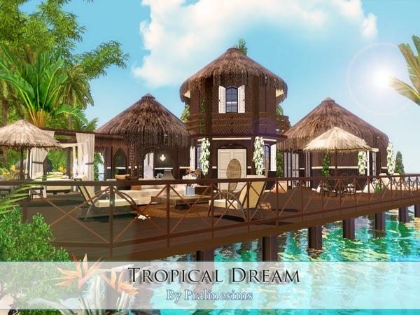 Sims  Villa Tropicale