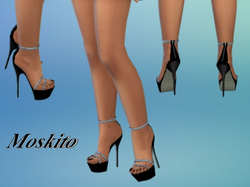 Moskito&39s Platform high heels 022