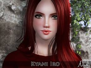 Sims 3 — Kyani Iro by Nisuki — Iro Family - Kyani Iro has recently stepped into the world of adults, but she says herself
