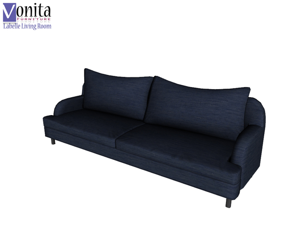 Vonita39s labelle sofa for Sims 3 sectional sofa download