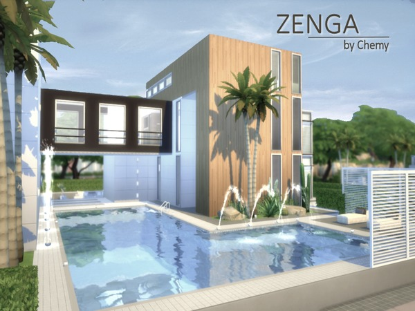 Chemy 39 s zenga for Pool designs sims 4